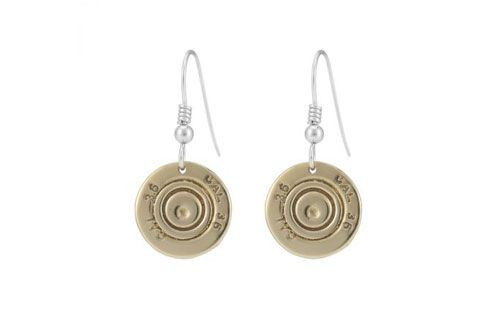 410 Shotgun Cartridge Drop Earrings