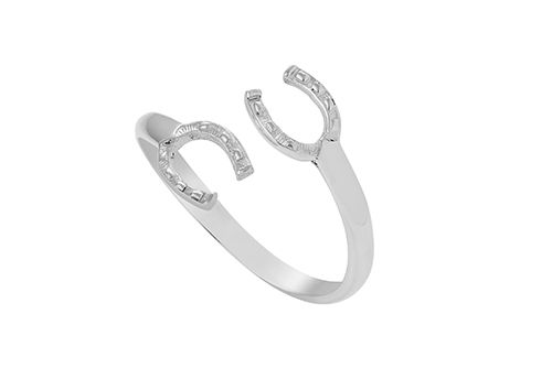Double Horse Shoe Ring