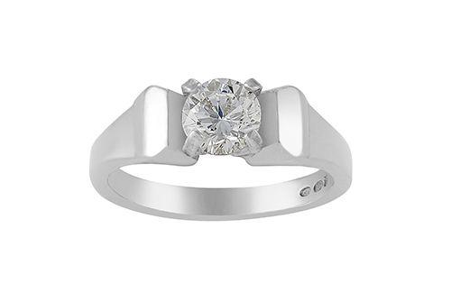 Farrier Nail Stone Ring / Horseshoe Nail Ring