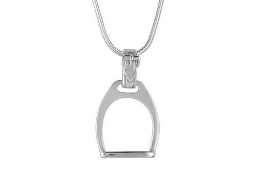 Horse Stirrup Necklace / Pendant