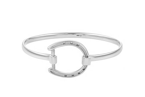 Horseshoe Bangle - Large