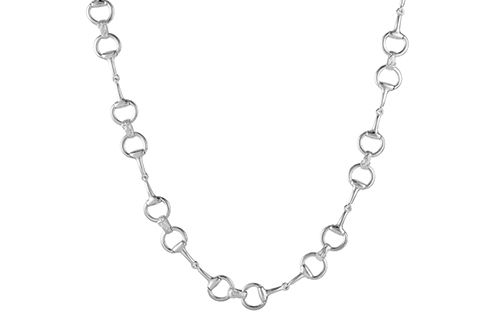 Large Snaffle Bit Necklace