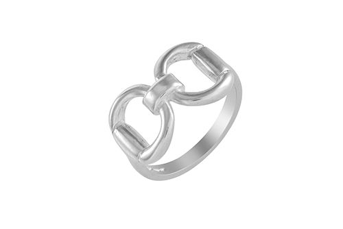 Snaffle Bit Ring (Large)