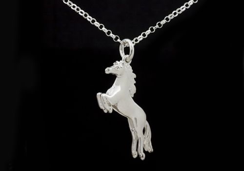 Leaping Horse Necklace