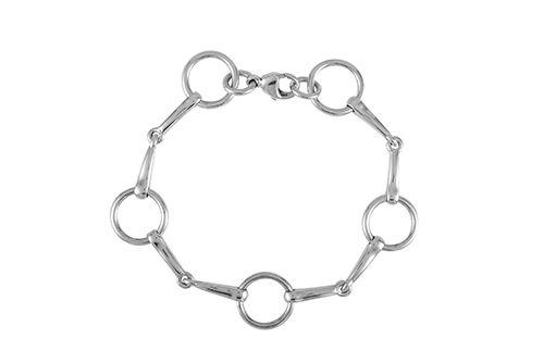 Loose Ring Snaffle Bit Bracelet