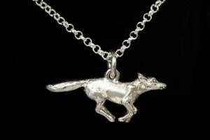 Running Fox Necklace