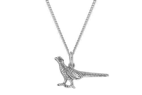 Pheasant Necklace / Pheasant Pendant