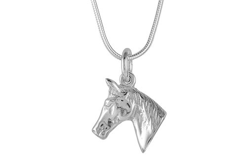 Pony Head Necklace