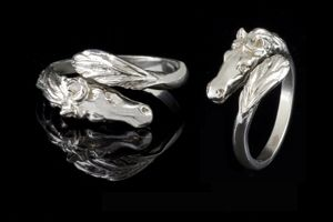 Horse Head and Tail Ring