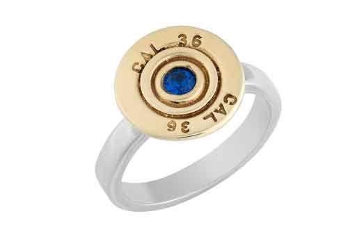 410 Cartridge / Rifle Bullet Ring