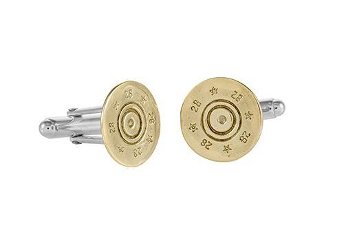 Shotgun Cufflinks/  Cartridge Cufflinks