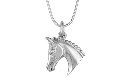 Show Hack Horse Head Necklace