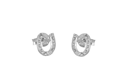 Small Horseshoe Earrings