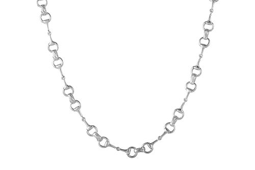 Snaffle Bit Necklace - Medium Bit