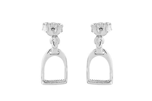 Stirrup and Buckle Earrings