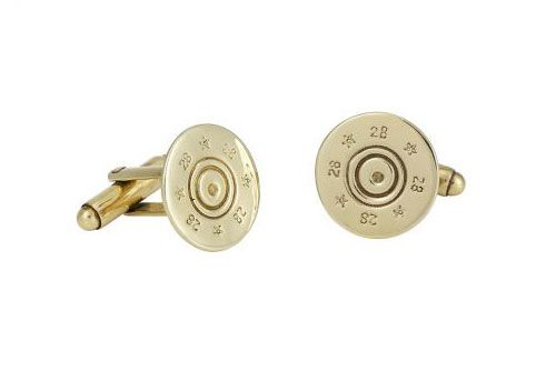 Shotgun Cufflinks /  Cartridge Cufflinks